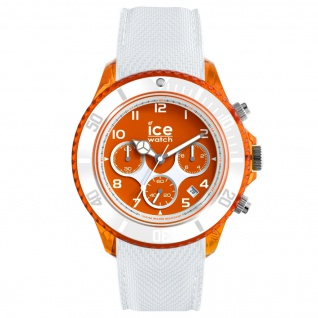 Ice-Watch 014221 ICE dune white orange red Large CH Uhr Datum Weiß - Vorschau 1