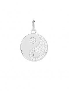 XENOX XS3457 Damen Anhänger Yin Yang Sterling-Silber 925 Silber Weiß