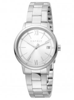 Esprit ES1L181M0075 Kaya Ladies Silver Uhr Damenuhr Datum silber