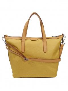Esprit Damen Handtasche Tasche Henkeltasche Anne City Bag Gelb