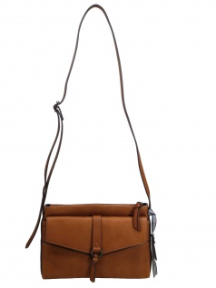 Esprit Damen Handtasche Tasche Schultertasche Kara shoulderbag Braun
