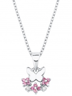 Prinzessin Lillifee 2027888 Mädchen Collier Schmetterling Blume 38 cm
