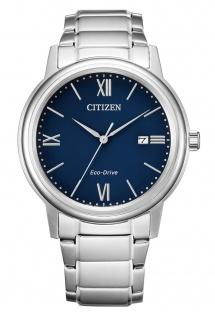 Citizen AW1670-82L Eco Drive Uhr Herrenuhr Edelstahl Datum silber