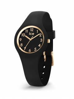 Ice-Watch 015342 ICE glam black gold numbers extra small Uhr Schwarz