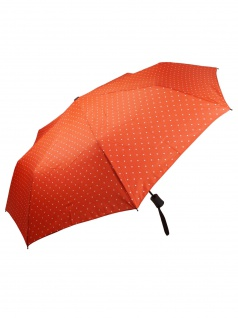 Flash MINI AC Flash printed dots Orange Regenschirm Schirm