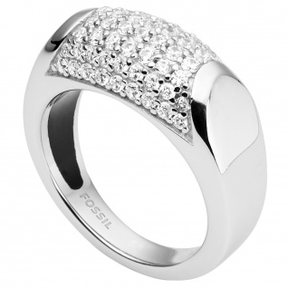 Fossil JFS00350 Damen Ring Sterling-Silber 925 53 (16.9)