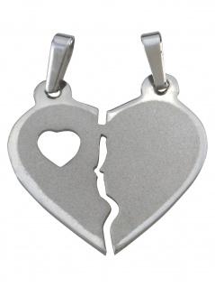 Gerry Eder 29.1097S Damen Anhänger Herz Sterling-Silber 925 Silber