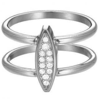 Esprit Damen Ring esprit-jw50031 Edelstahl Zirkonia 53 (16.9)