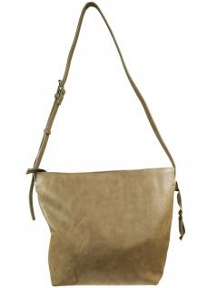 Esprit Damen Handtasche Schultertasche Florence Shoulderbag Grau - Vorschau 1