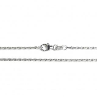 Basic Silber AN01.60.38R Kette Baby Anker Halskette Silber 38 cm