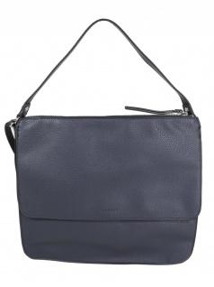 Esprit Damen Handtasche Tasche Henkeltasche Christy Hobo Blau