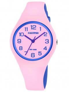 Calypso K5777/1 Uhr Mädchen Kinderuhr Kunststoff rosa