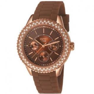 Esprit ES106222008 marin glints speed brown Uhr Damenuhr Datum braun