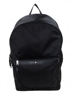 Tommy Hilfiger Rucksack Elevated Nylon Backpack Schwarz AM0AM05261-BDS