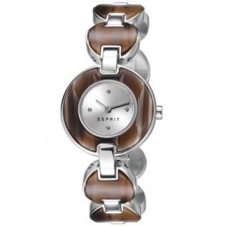 Esprit ES106572002 lagoon tortoise light brown Damenuhr Stahl braun