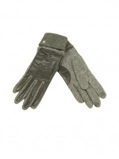 Esprit Handschuhe Fingerhandschuhe Touchscreen Sporty Nappa L Grau