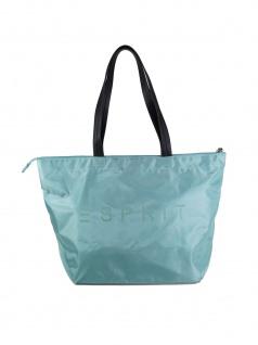Esprit Damen Handtasche Tasche Shopper Cleo shopper Türkis