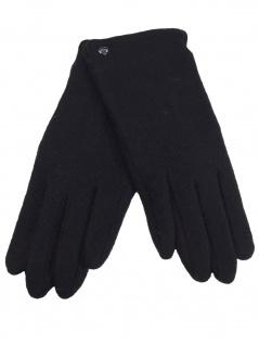Esprit Handschuhe Fingerhandschuhe Touchscreen Felted Gloves L Schwarz