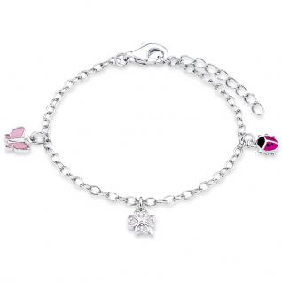 Prinzessin Lillifee PLFS/50 Mädchen Armband Charms Silber 14 cm