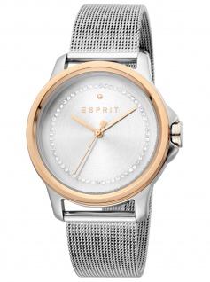 Esprit ES1L147M0115 Bout Silver Rosegold Uhr Damenuhr Edelstahl silber