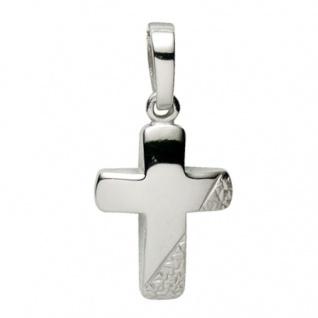 Basic Silber 27.9134S Damen Anhänger Kreuz Silber