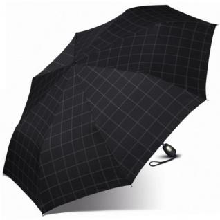 Esprit Taschenschirm Gents Mini Tecmatic 50353 Regenschirm Schwarz