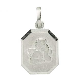 Basic Silber 22.229 Kinder Anhänger Schutzengel Silber