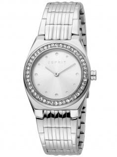Esprit ES1L148M0045 Spot Silver MB Uhr Damenuhr Edelstahl silber