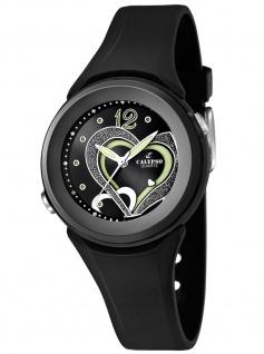 Calypso K5576/6 Uhr Damenuhr Kautschuk schwarz