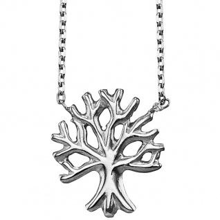 Julie Julsen® JJNE9826.1 Damen Collier Lebensbaum Silber 42 cm