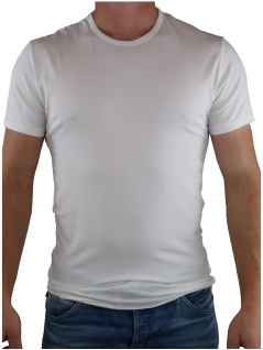 Calvin Klein Herren T-Shirt Kurzarm 2er Pack S/S Crew Neck Weiß XL