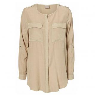 Vero Moda Damenbluse Bluse Langarm COBRA LS Shirt Beige Gr. XS