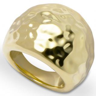 GOOIX 443-05733 Damen Ring Edelstahl 54 (17.2) gold