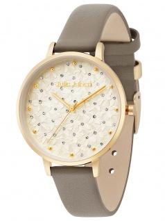Julie Julsen JJW1066GL-7 Petals gold brown Uhr Damenuhr Leder braun