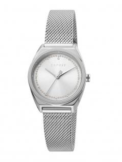 Esprit ES1L100M0055 Slice Dot Uhr Damenuhr Edelstahl Silber