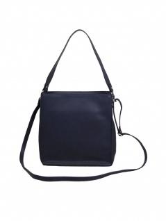 Esprit Damen Handtasche Tasche Henkeltasche Debbie Hobo Blau
