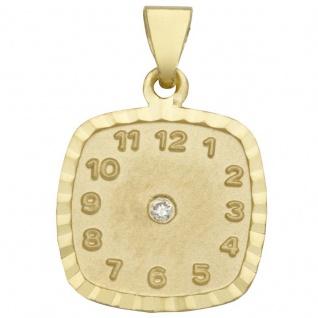 Basic Gold TG03 Kinder Anhänger Taufuhr 14 Karat (585) Gelbgold