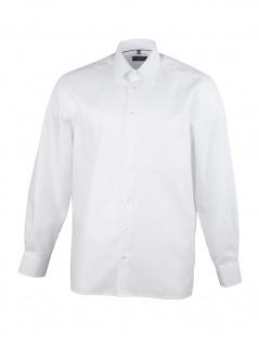 Eterna Herren Hemd Langarm Comfort Fit 3118/00/E18E Weiß XL/43