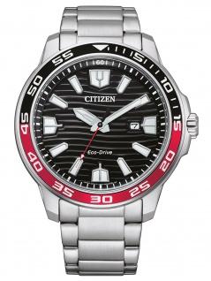 Citizen AW1527-86E Eco Drive Uhr Herrenuhr Edelstahl Datum silber