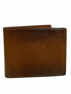 Fossil Herren Geldbörse PAUL Bifold Flip ID Leder Braun ML3891-222