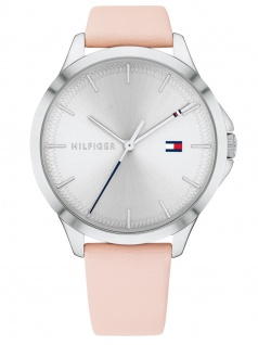 Tommy Hilfiger 1782106 PEYTON Uhr Damenuhr Lederarmband Rosa