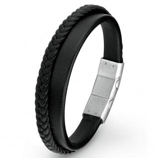 s.Oliver 2015061 Herren Armband Edelstahl Silber 21, 5 cm
