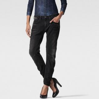G-Star Damen Jeans 608926544-89 Arc 3D Low Boyfriend Schwarz 31W / 34L