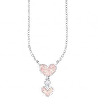 Prinzessin Lillifee PLFS/62 Mädchen Collier Herz Silber rosa 37 cm
