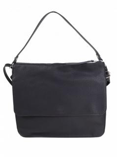 Esprit Damen Handtasche Tasche Henkeltasche Christy Hobo Schwarz