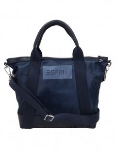Esprit Damen Handtasche Tasche Annie City Bag Blau 010EA1O329-400