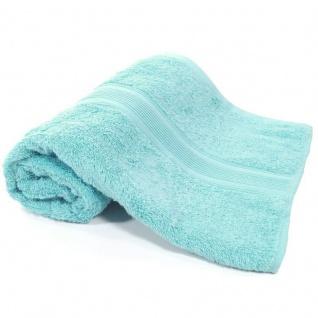 Duschtuch Hellblau Frottee Baumwolle 500g/m2 Handtuch 70 x 140 cm