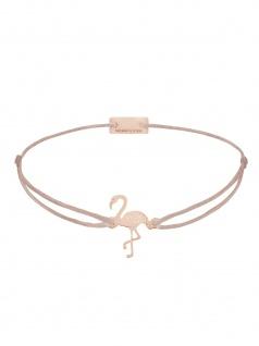MOMENTOSS 21203801 Armband Filo Flamingo Rose braun-beige 24, 5 cm