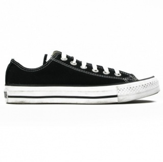 Converse Herren Schuhe All Star Ox Schwarz M9166C Sneakers Gr. 44