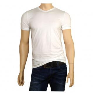 Eterna Herren T-Shirt Kurzarm Shirt AC/800/00 Bodywear Weiß Gr. M